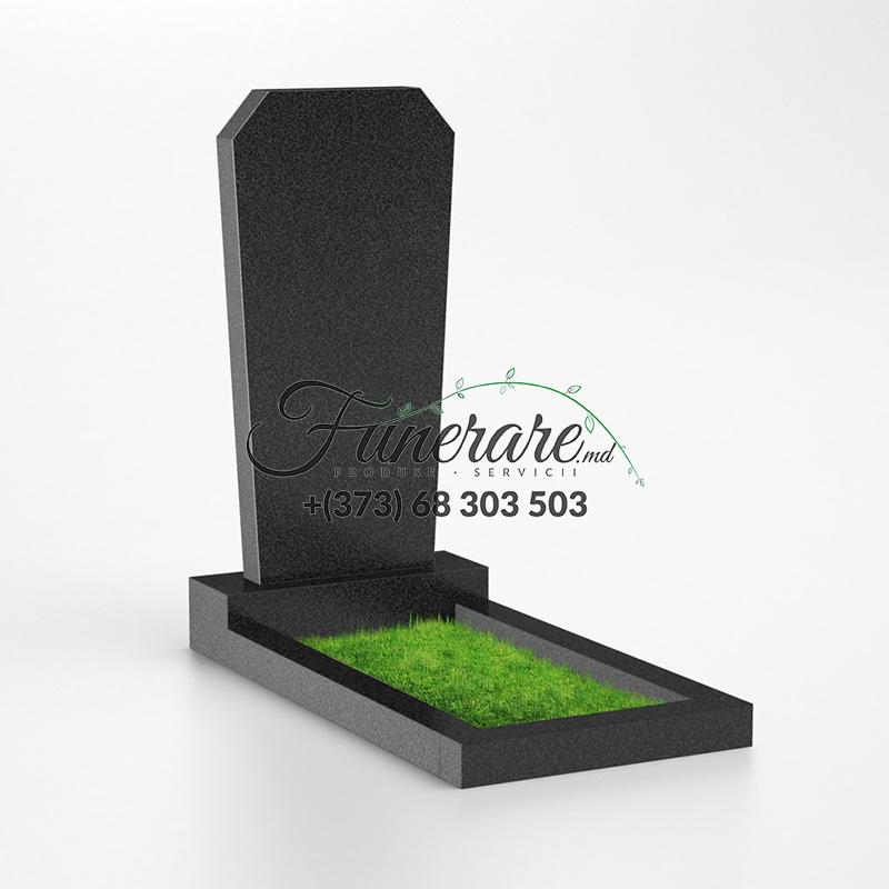 Monument granit negru 0002