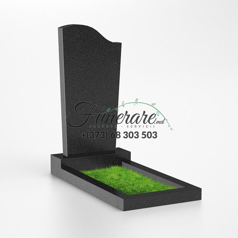 Monument granit negru 0009