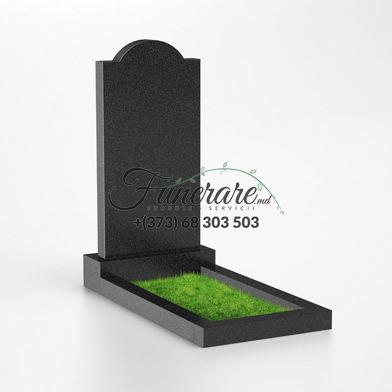 Памятник черный гранит 0011