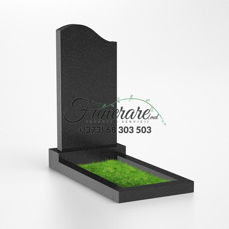 Памятник черный гранит 0014