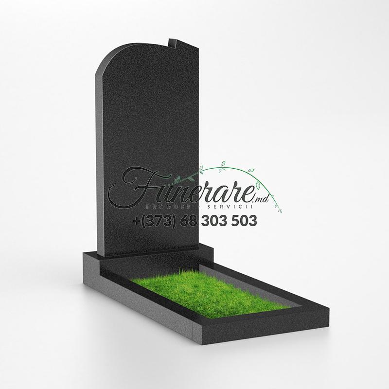 Monument granit negru 0017