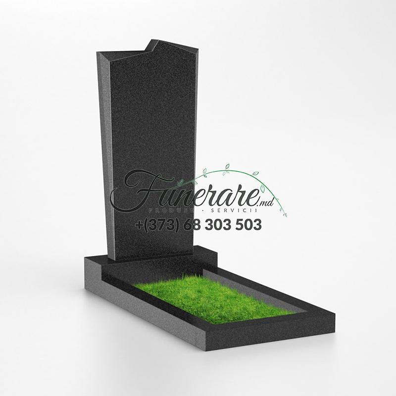 Monument granit negru 0019
