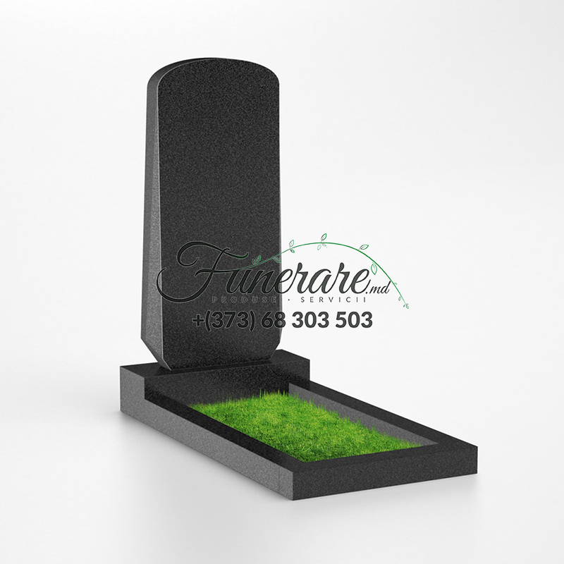 Памятник черный гранит 0024