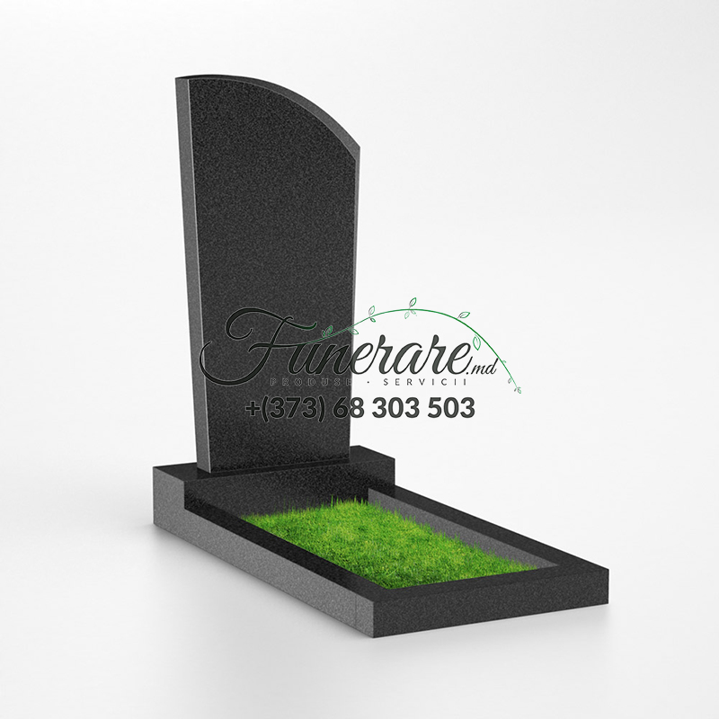 Памятник черный гранит 0027