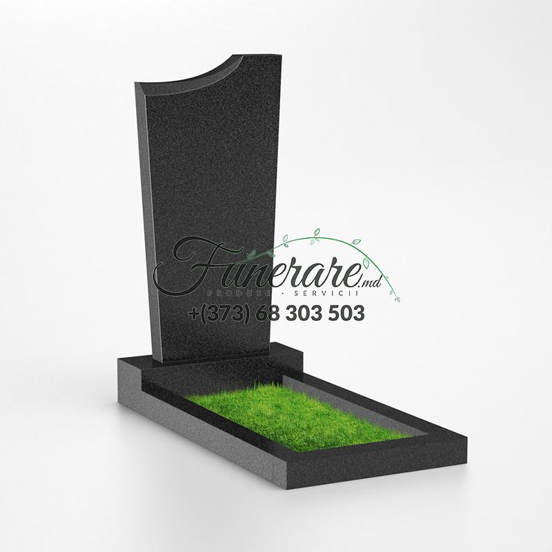 Памятник черный гранит 0028