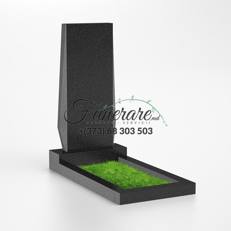 Monument granit negru 0029