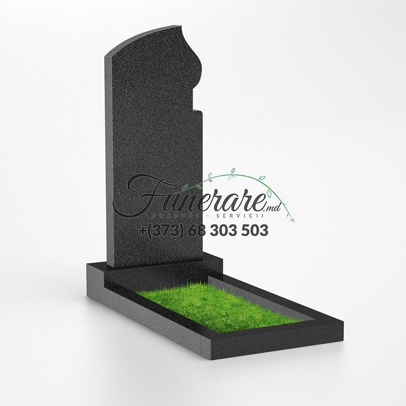 Monument granit negru 0034