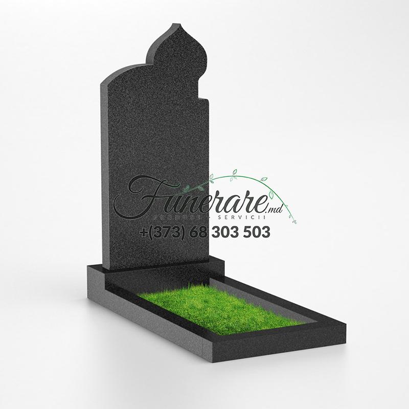 Monument granit negru 0035