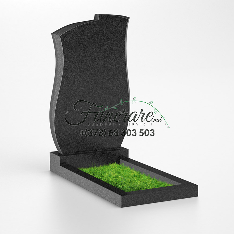 Monument granit negru 0039