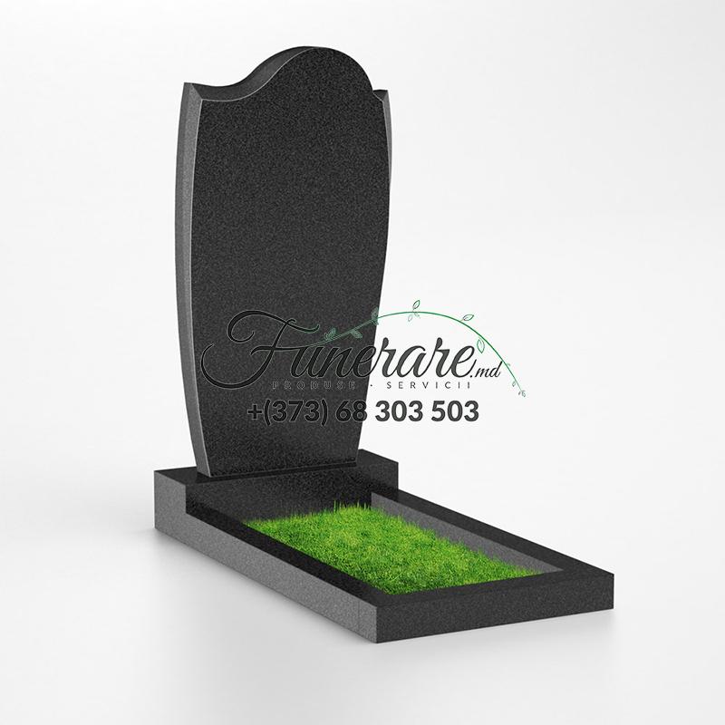 Monument granit negru 0040