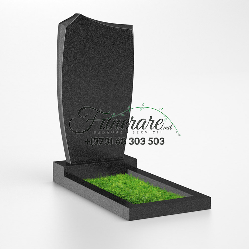 Monument granit negru 0041