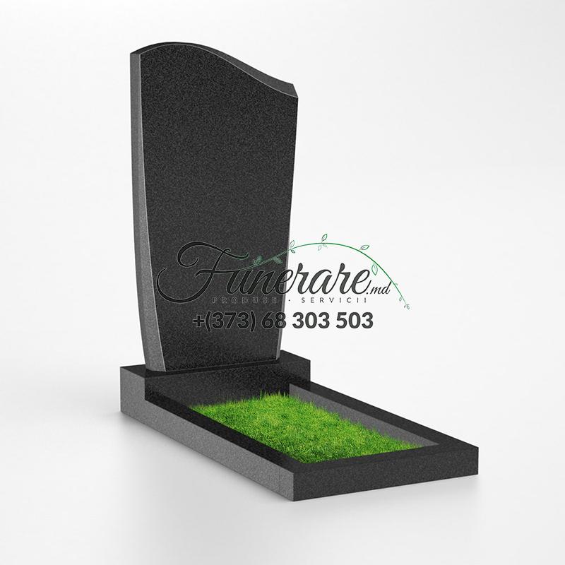 Monument granit negru 0044