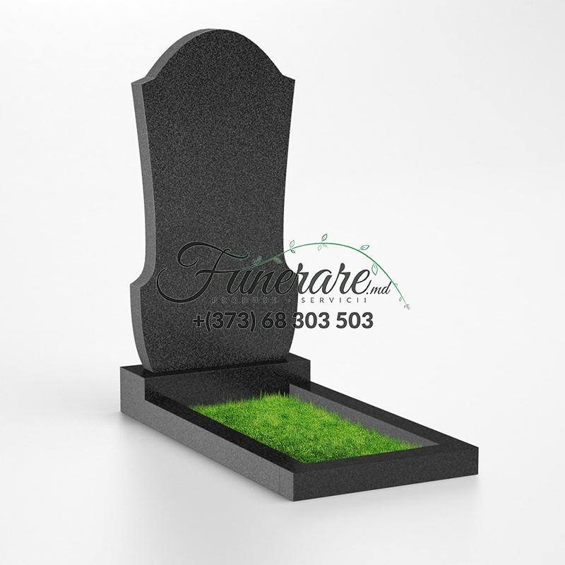 Monument granit negru 0048
