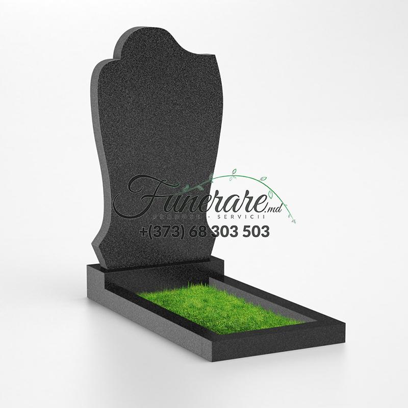 Памятник черный гранит 0049