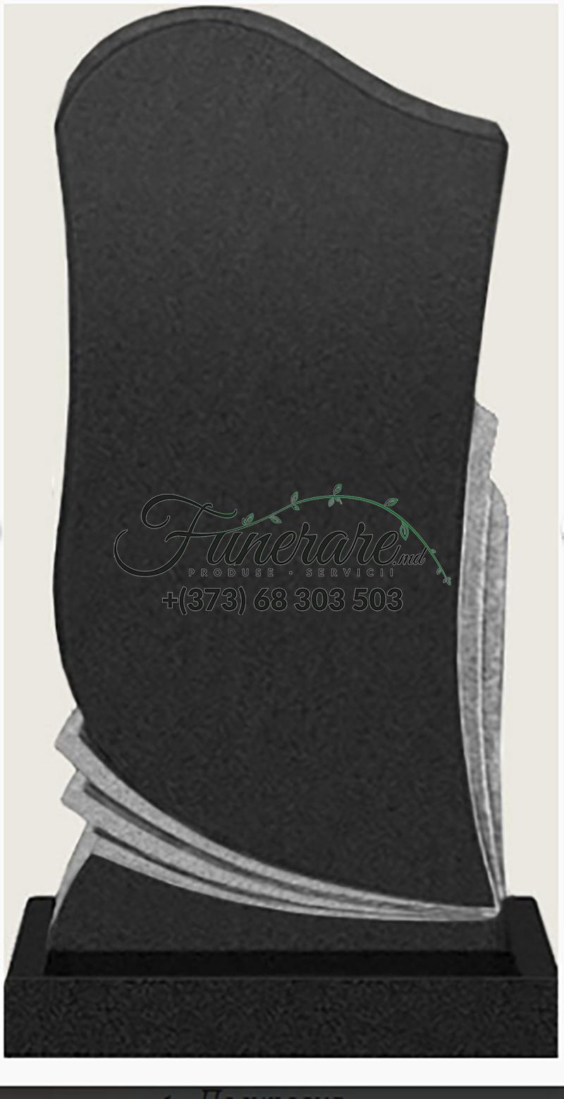 Памятник черный гранит 0705