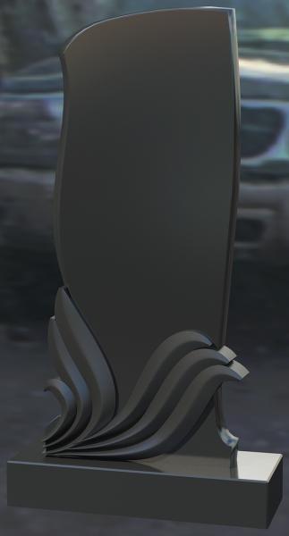 Monument granit negru 0066