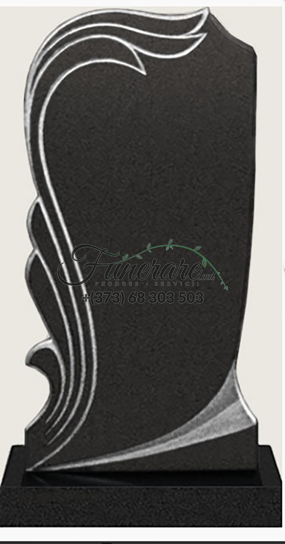 Памятник черный гранит 0076