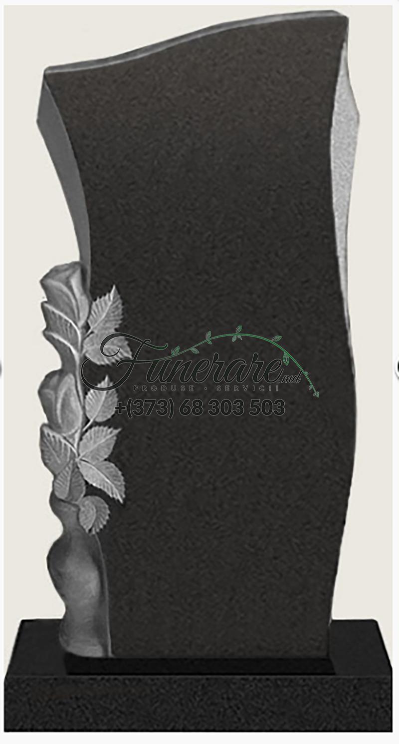 Monument granit negru 0084