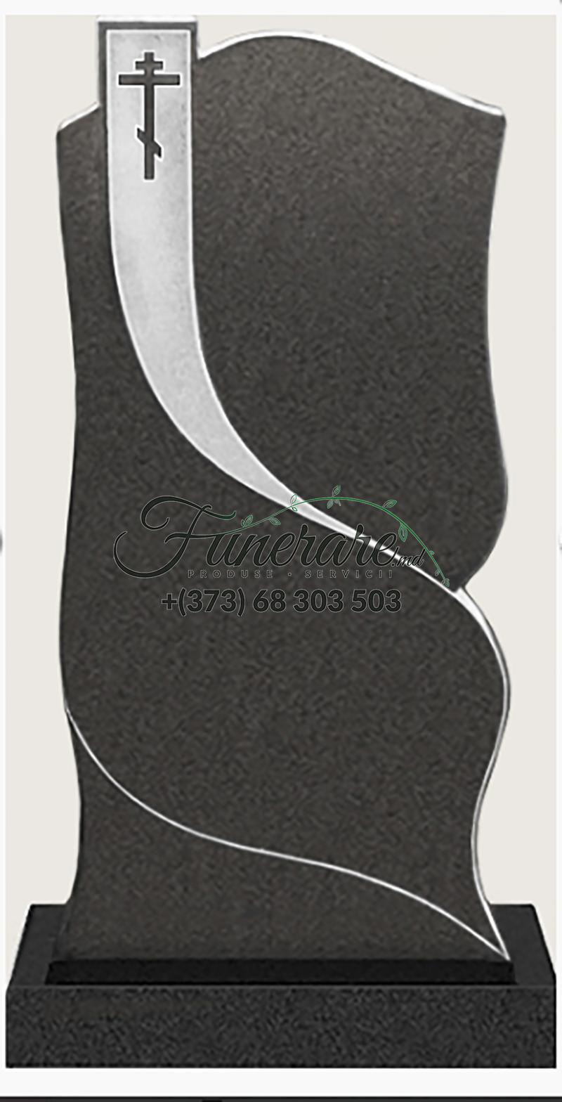 Monument granit negru 0090