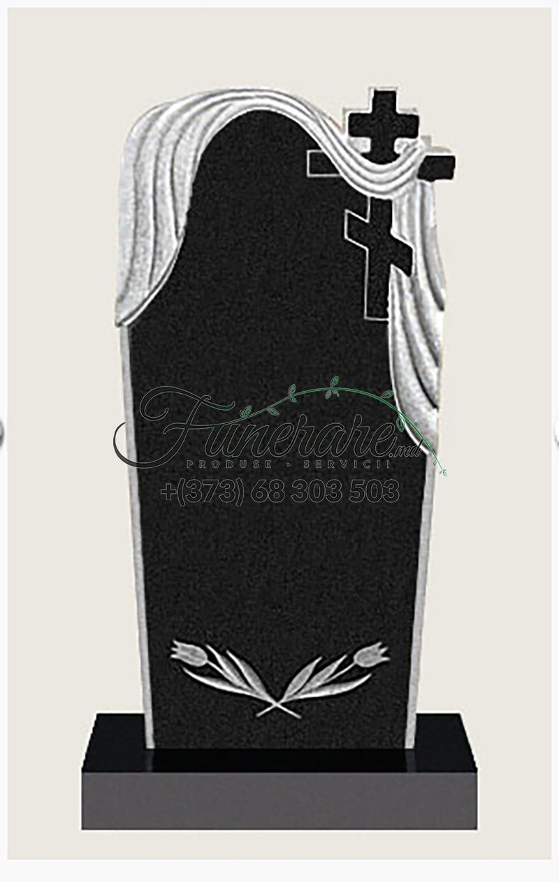 Памятник черный гранит 0092
