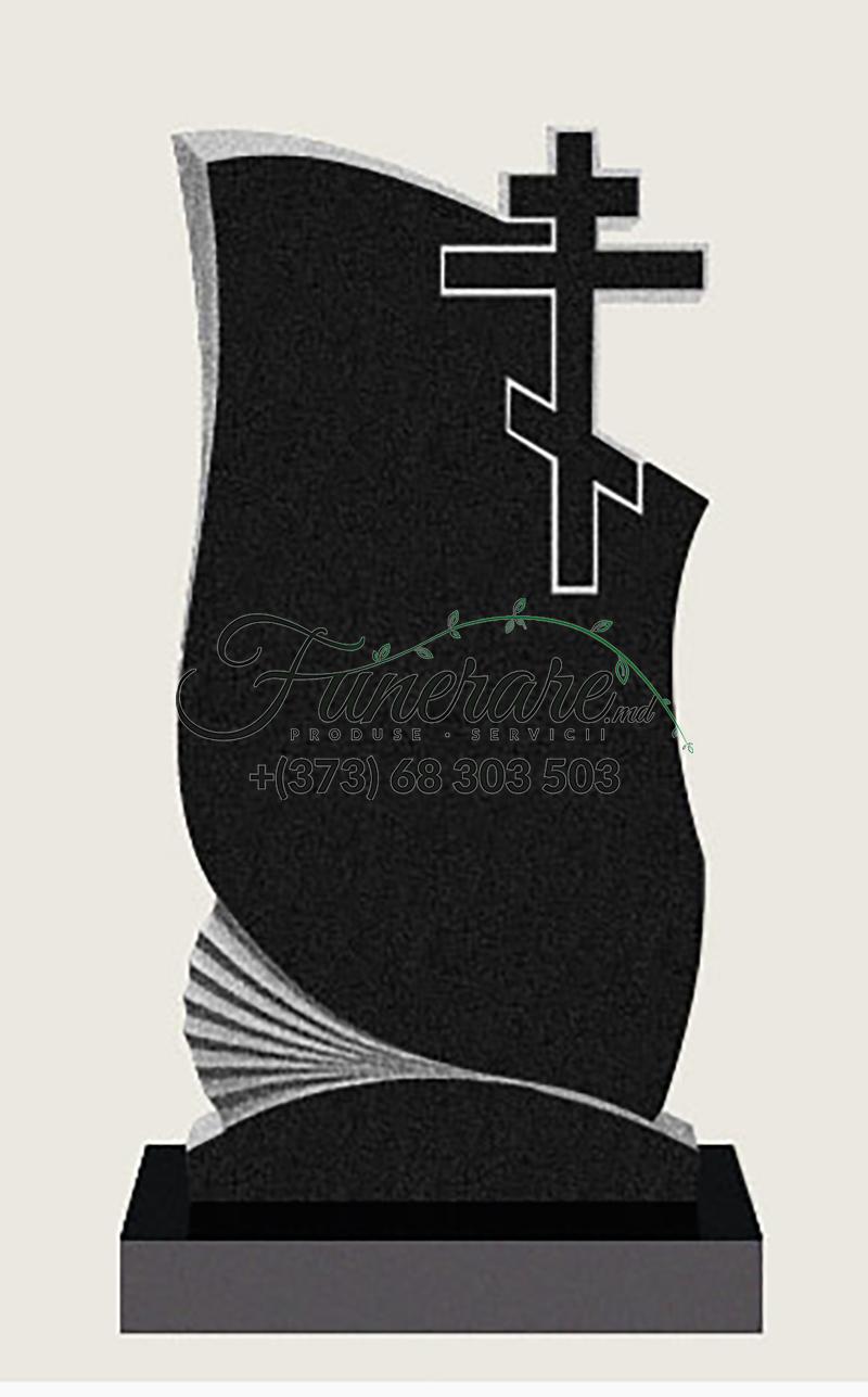 Памятник черный гранит 0096