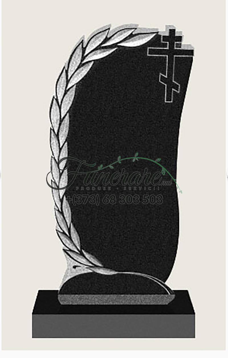Памятник черный гранит 0097