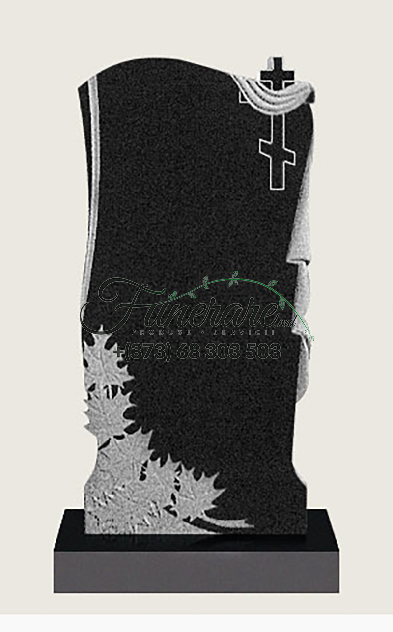 Памятник черный гранит 0098