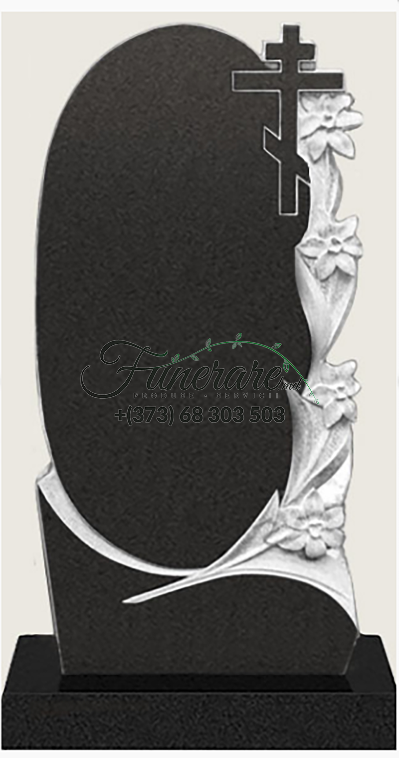 Памятник черный гранит 0103