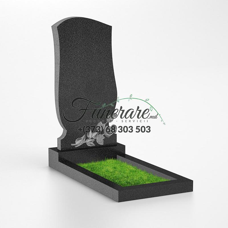 Памятник черный гранит 0105