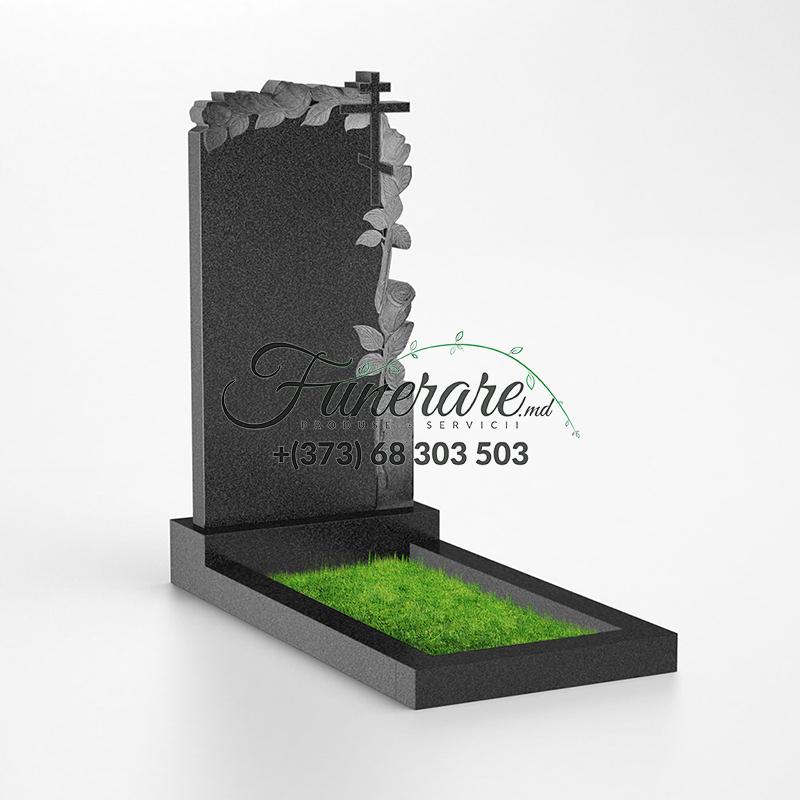 Памятник черный гранит 0106