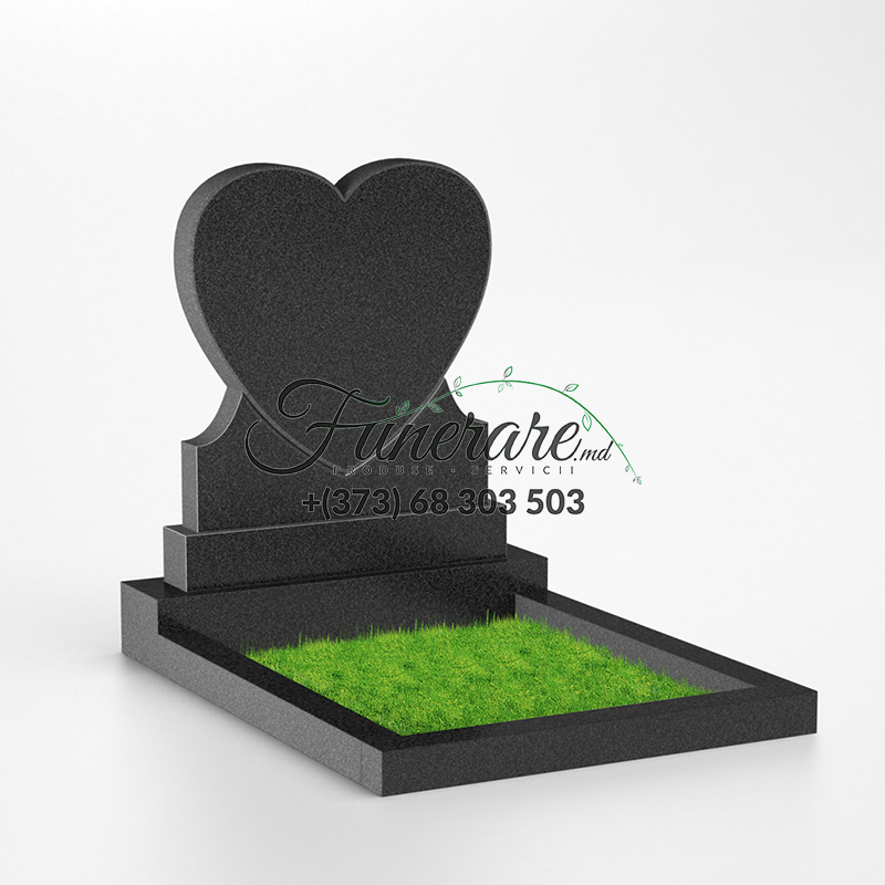 Памятник черный гранит 0108