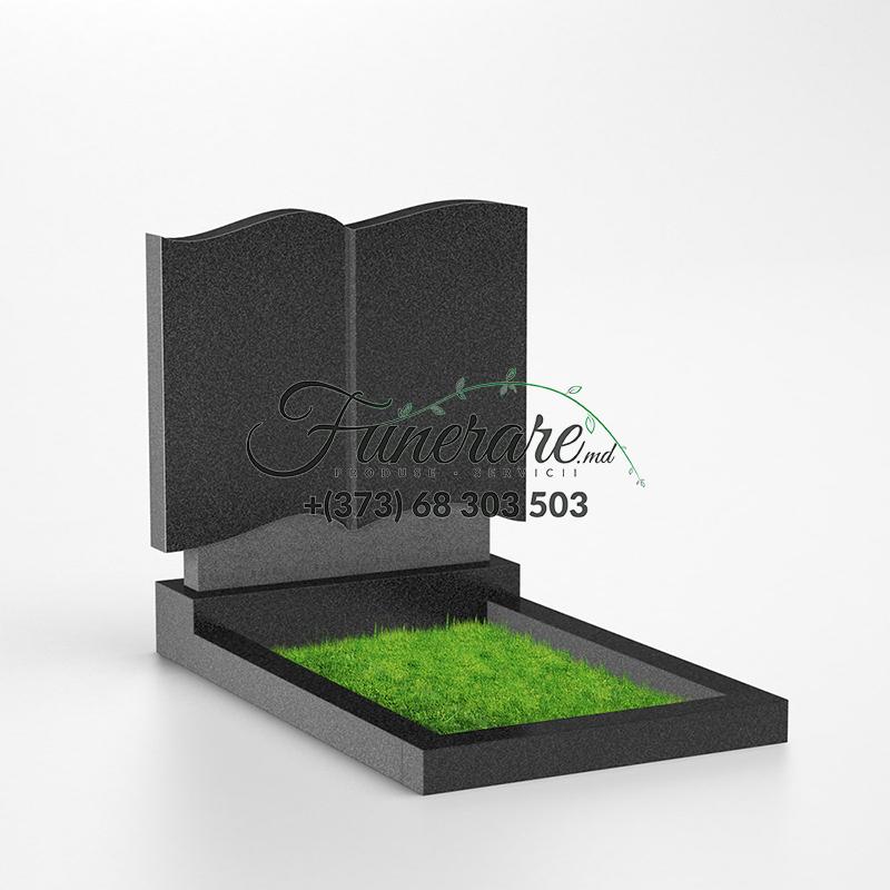 Памятник черный гранит 0109