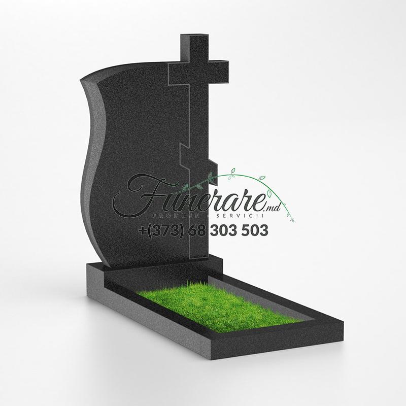 Памятник черный гранит 0110