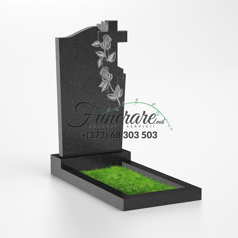 Monument granit negru 0111