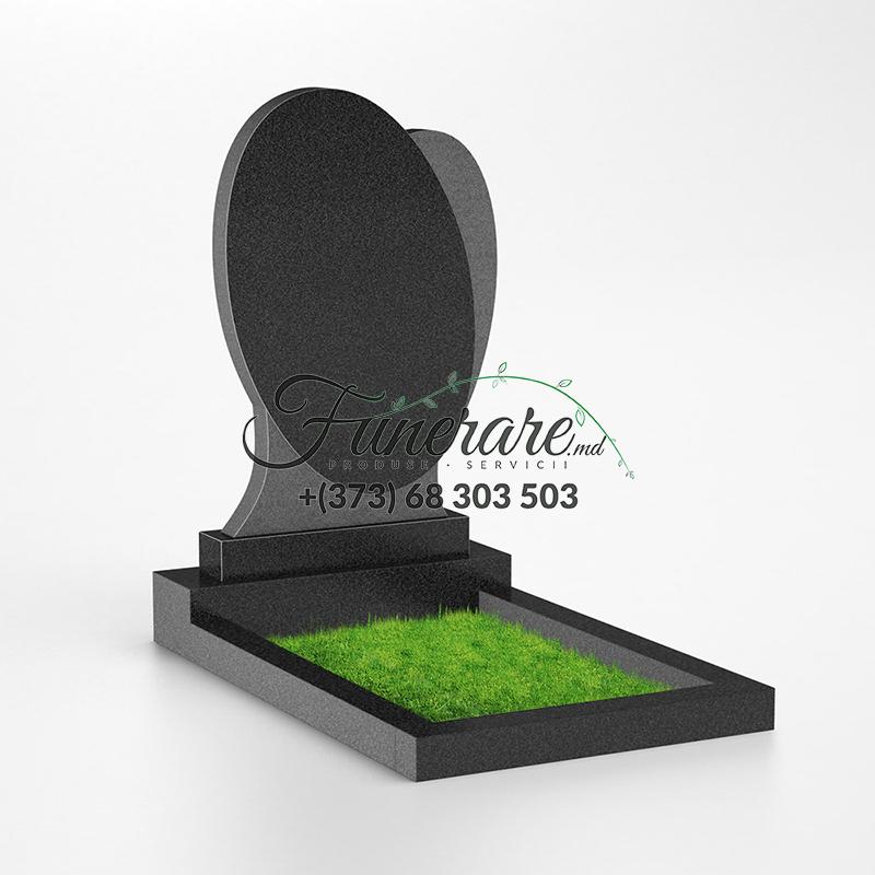 Памятник черный гранит 0112
