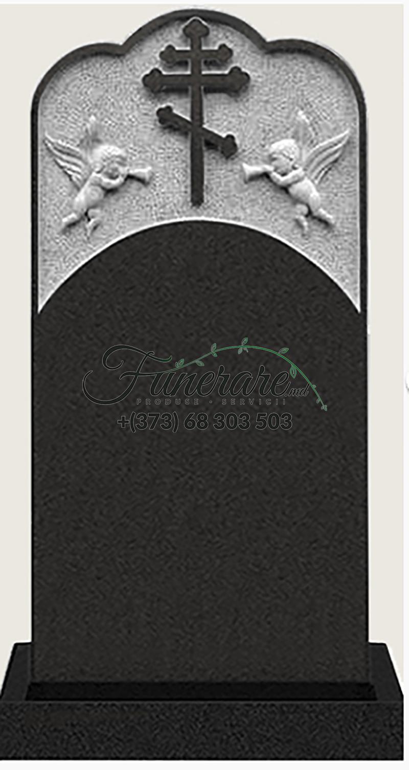 Monument granit negru 0119