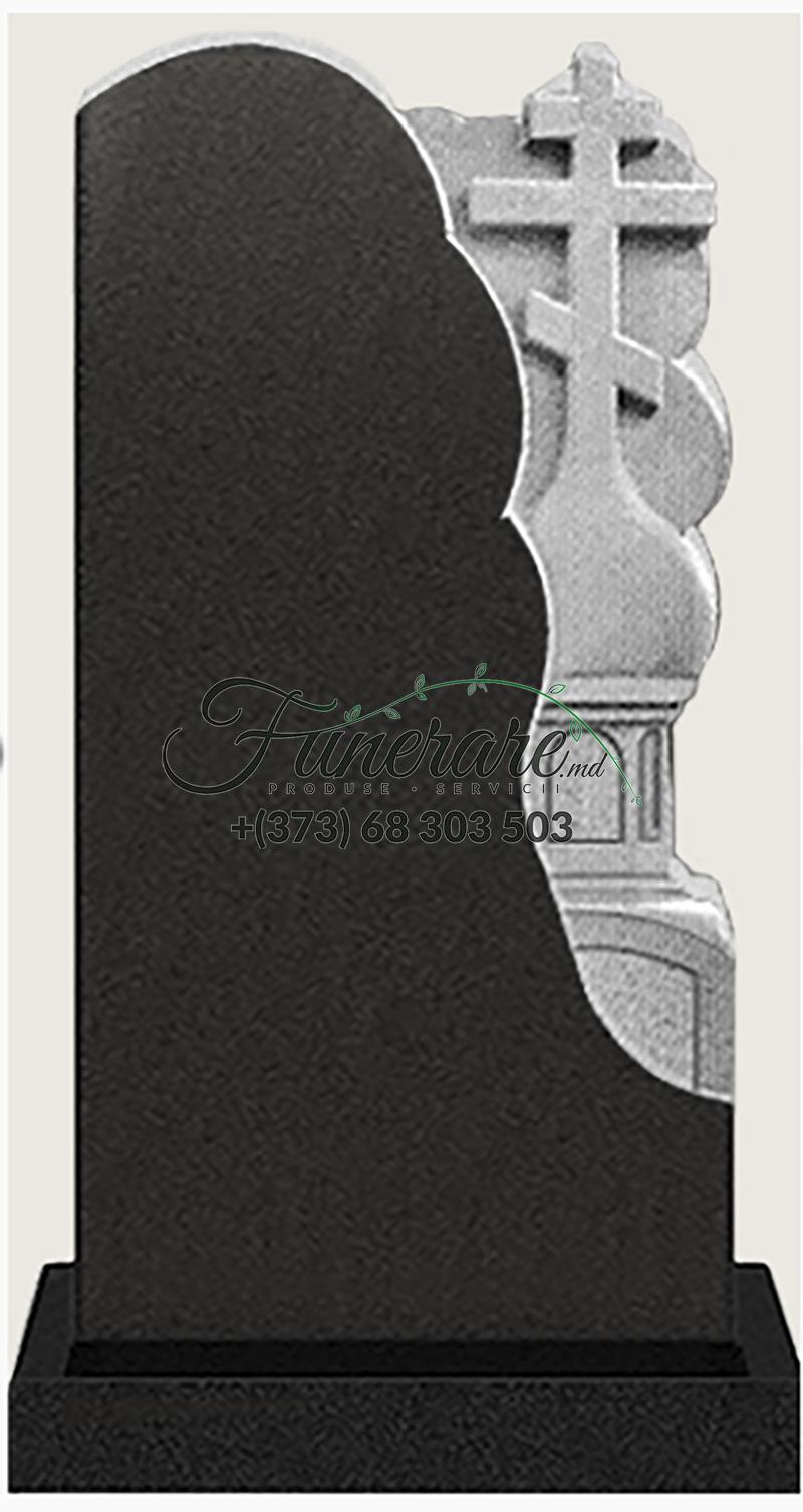 Памятник черный гранит 0122