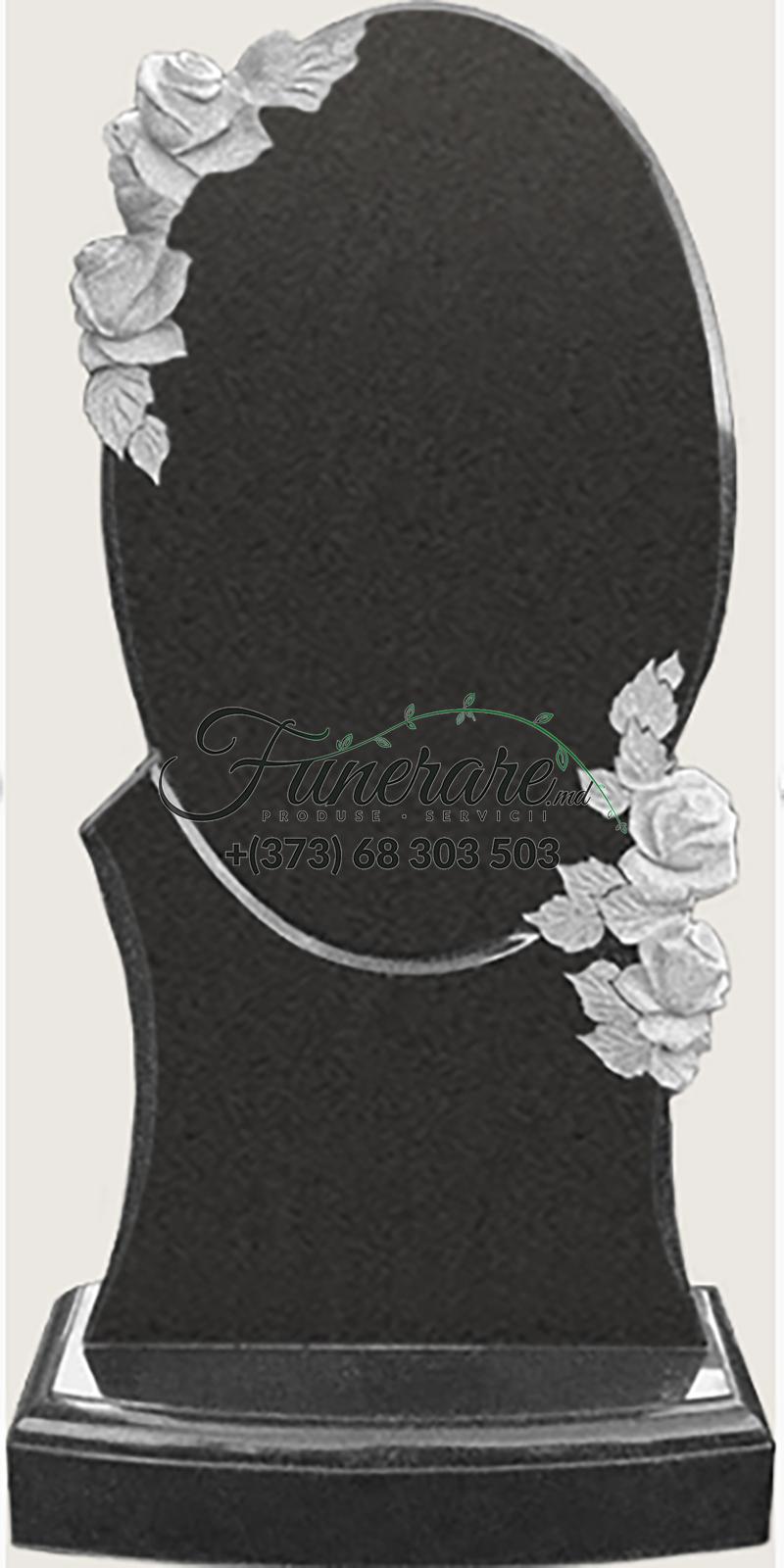 Monument granit negru 0126