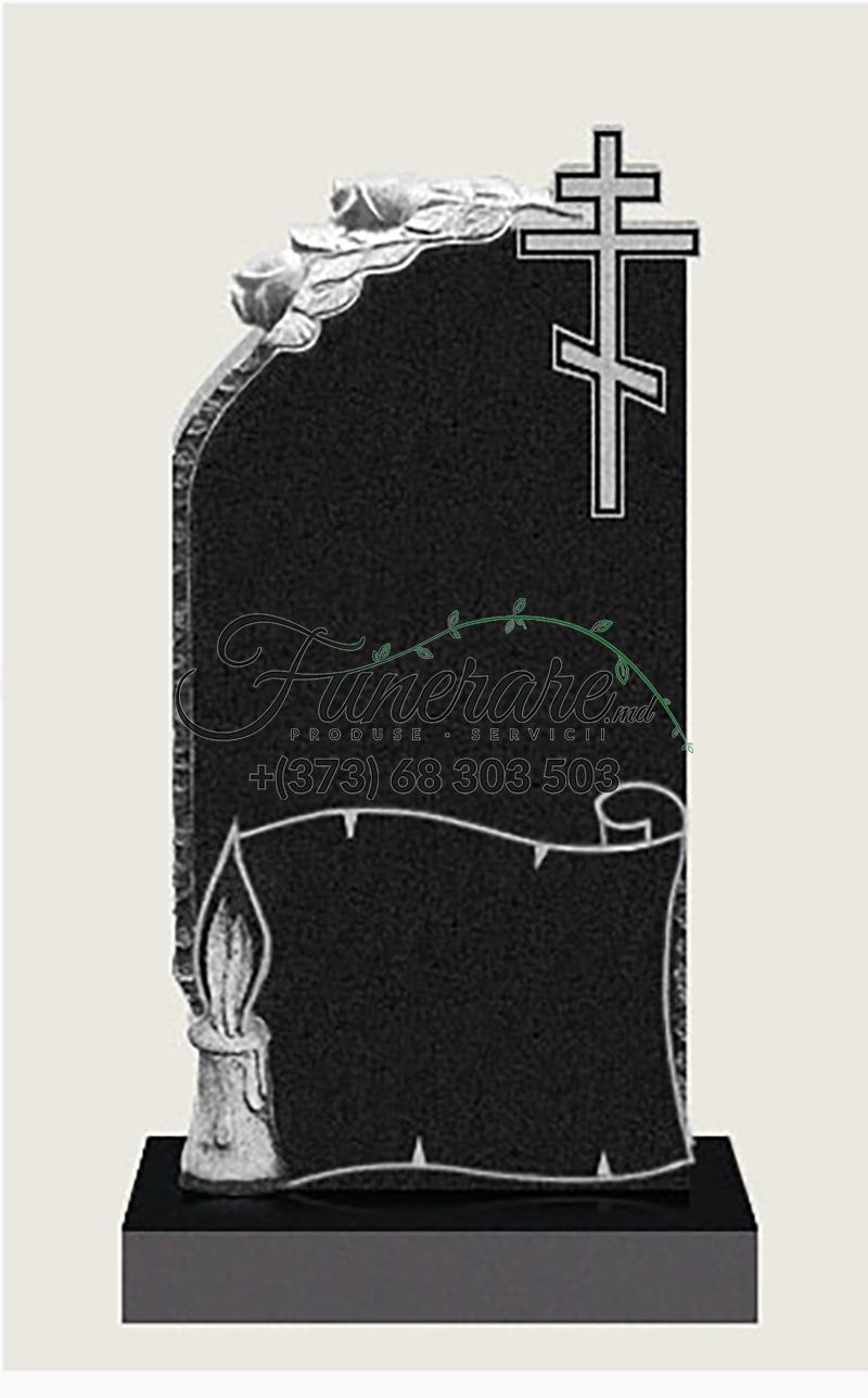 Monument granit negru 0129