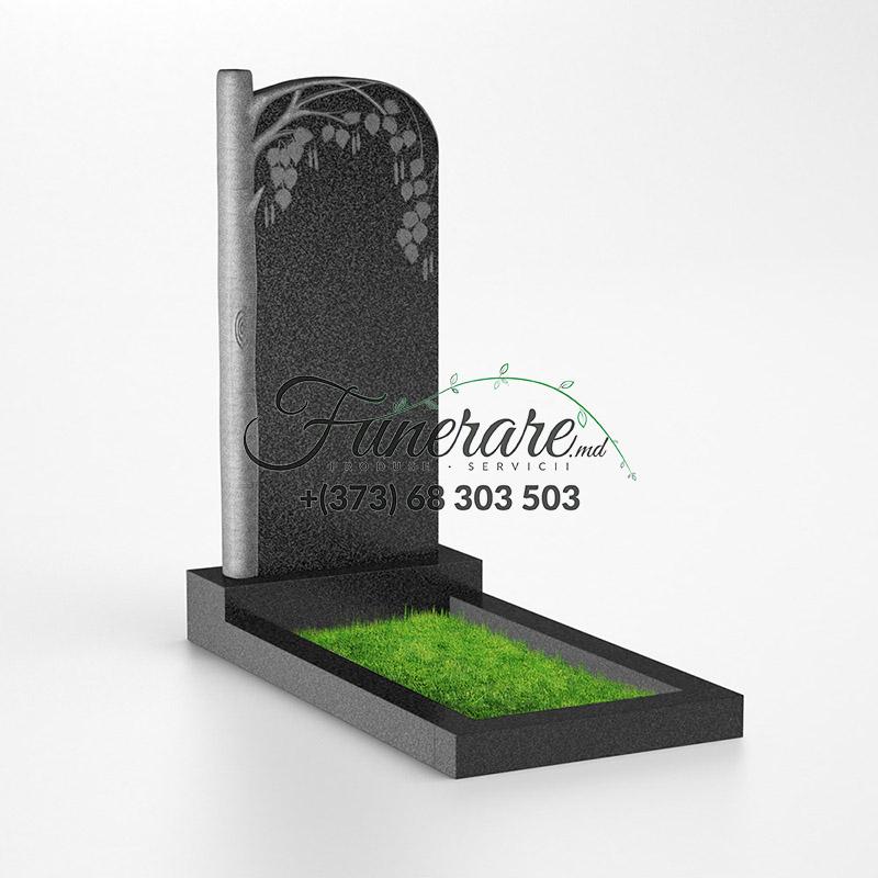 Памятник черный гранит 0133