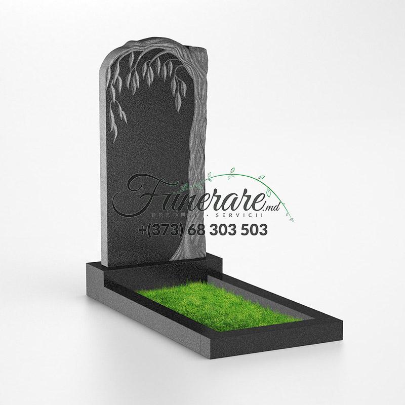 Памятник черный гранит 0135