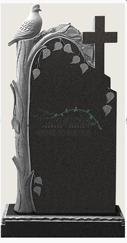 Памятник черный гранит 0139