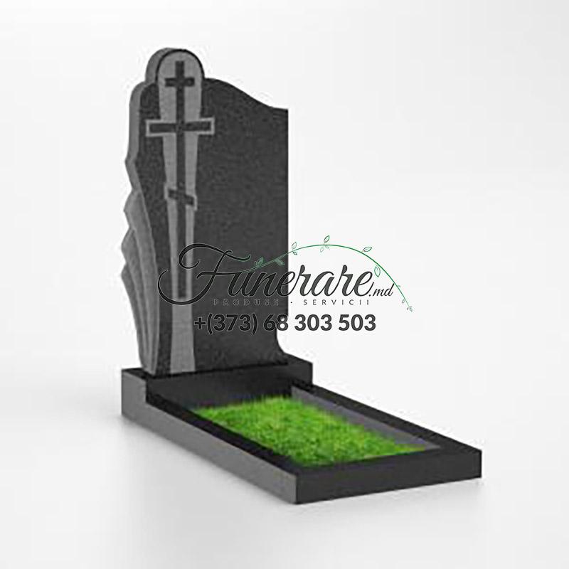 Памятник черный гранит 0140