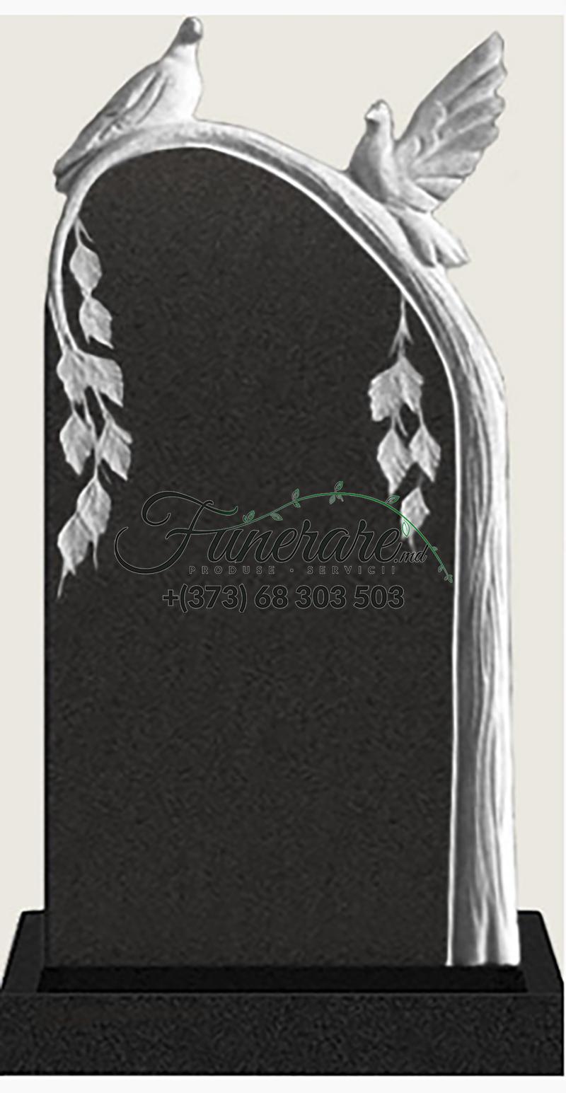 Monument granit negru 0151