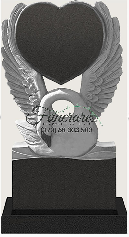 Памятник черный гранит 0154