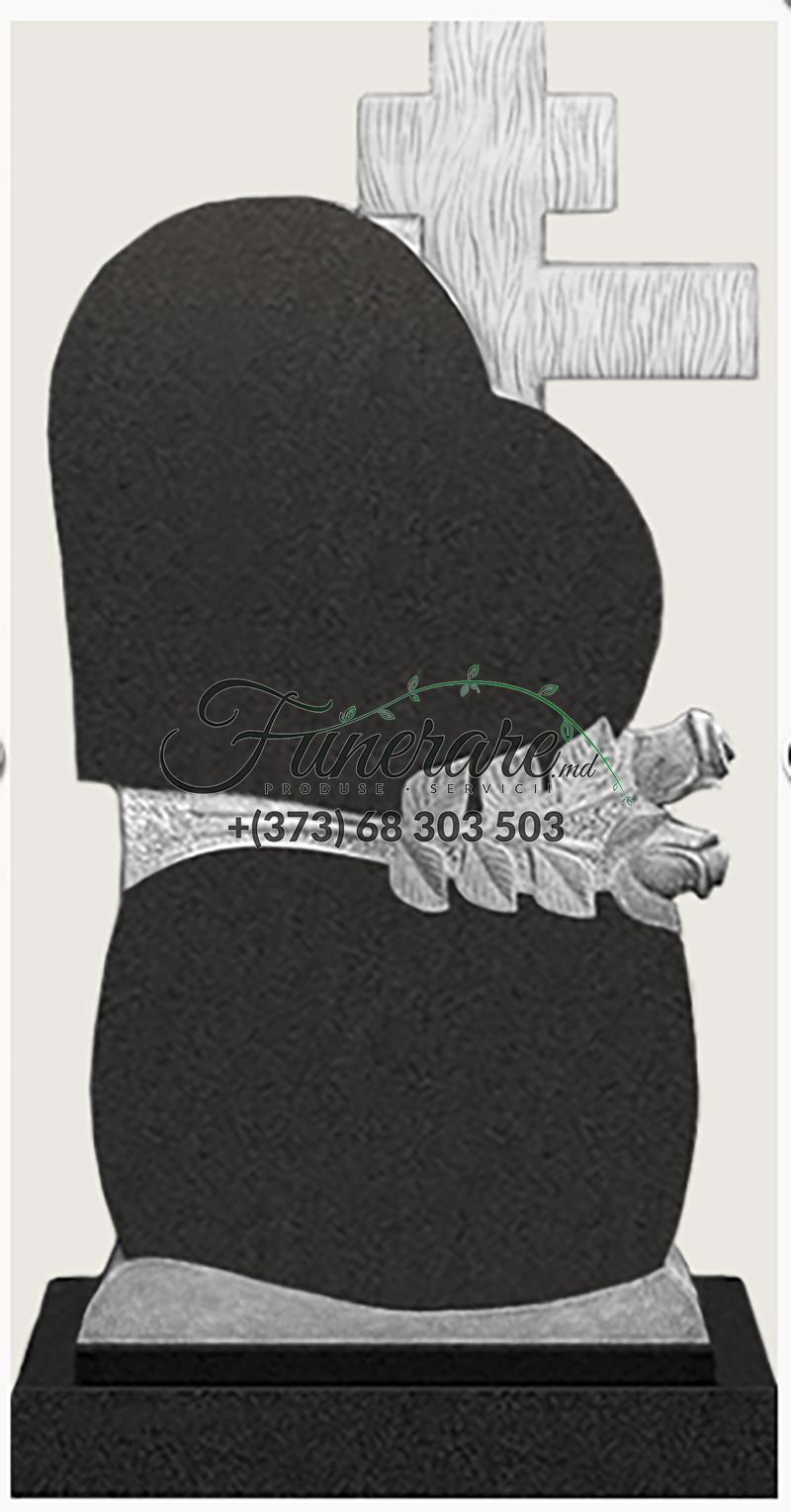 Памятник черный гранит 0157