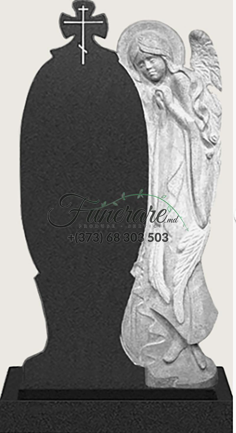 Памятник черный гранит 0166