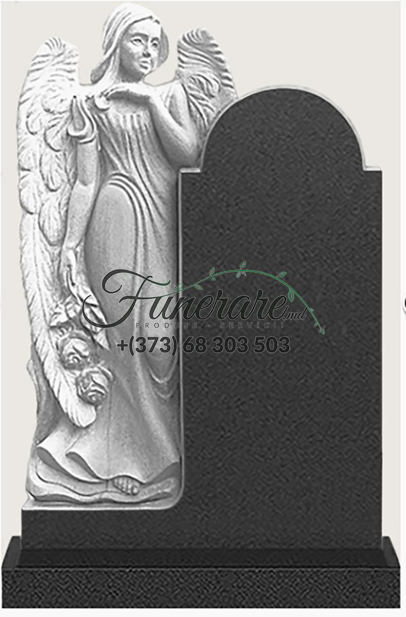 Памятник черный гранит 0178