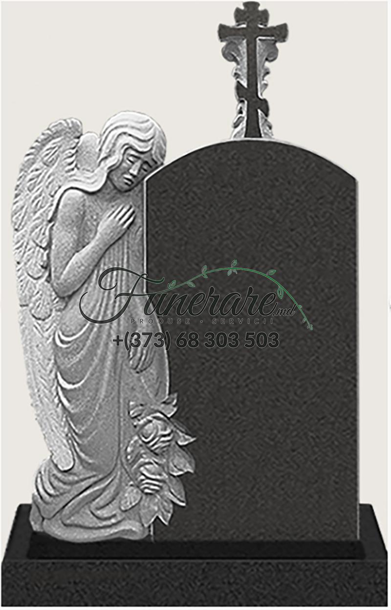 Памятник черный гранит 0183
