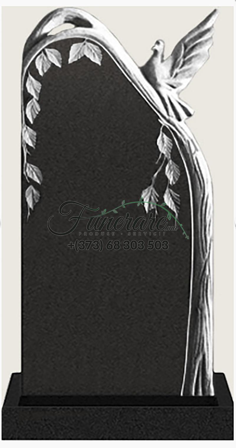 Памятник черный гранит 0184